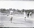 H.L Hillman of the New York Athletic Club winning the 400 meter hurdles at the 1904 Olympics.jpg