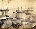 H.M.S. Aboukir at Port Royal, Jamaica. circa 1865.jpg