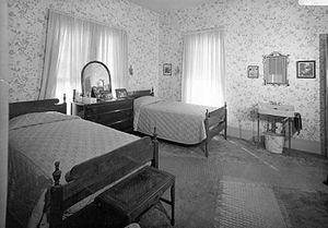 Harry S. Truman National Historic Site - The second-floor bedroom of Harry and Bess Truman, in their home in Independence, Missouri.