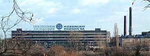 Wilda, Poznań - View of the Cegielski factory