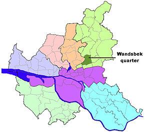 Wandsbek (quarter) - Image: HH Wandsbek quarter