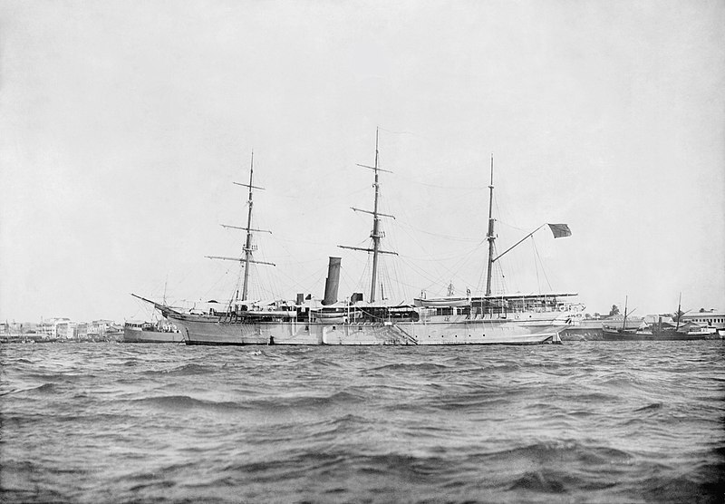 File:HHS Glasgow Sultan's guardship.jpg