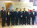HKU Contennial College 明德學院 VIP Mar-2012 張永霖 CHEUNG Linus 林瑞麟 Stephen LAM Sui-lung 梁智鴻 Edward Leong Che-hung.jpg