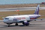 HK Express ,UO687 ,Airbus A320-232 ,B-LCA ,Departed to Hong Kong ,Kansai Airport (16622890330).jpg