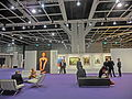 HK HKCEC Wan Chai 蘇富比 Sotheby's Preview 拍賣 預展 exhibition hall interior visitors Oct-2013.JPG