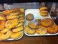 HK Kennedy Town Belcher's 西寶城 Westwood mall Panash Bakery & Cafe Feb-2012 white sugar Doughnuts 02.jpg