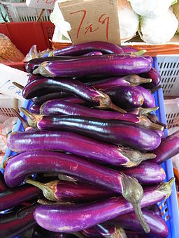 HK SYP Best of Best Vegetable purple Eggplant Aug-2012