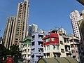 HK Sheung Wan 卜公花園 Blake Garden 順景雅庭 View Villa 38 Tai Ping Shan Street Jan-2015 TWGH Tower 125 n walk-up buildings DSC.JPG