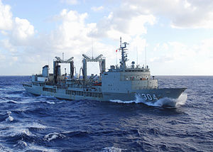 HMAS Success in 2009