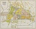 HUA-214041-Plattegrond van de stad Utrecht met weergave van het stratenplan met namen bebouwing wegen watergangen en groenvoorzieningen Met aanduiding van de wij.jpg