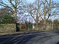 Haggs Road entrance to Pollok Country Park - geograph.org.uk - 1178354.jpg