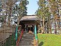 Haiden of Akatsuka Kashima-jinja shrine in Kami town..JPG