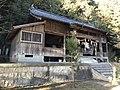 Haiden of Wakamiya Shrine in Miyako, Miyako, Fukuoka.jpg