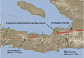 Haiti January 12, 2010 quake and Enriquillo-Plaintain Garden Fault.png