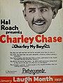 Hal Roach presents Charley Chase, 1926.jpg