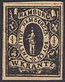 Hamburg 1863 local stamp half Sch.jpg