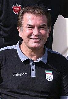 Hamid Estili Iranian footballer