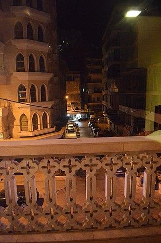 Hamra Street - Hamra night scene