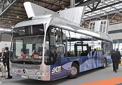 KIT-Shuttlebus auf der IAA 2012