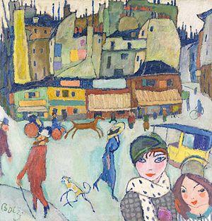 Hanns Bolz - Image: Hanns Bolz Montmartre 1910