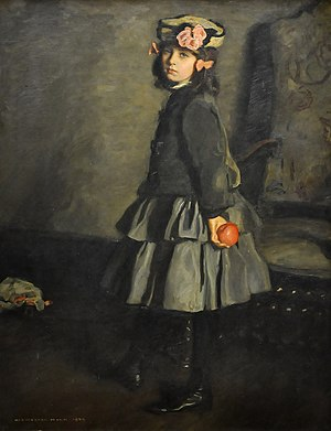 Harrington Mann - Cathleen (1906), painted by her father at the Museum of Fine Arts, Ghent