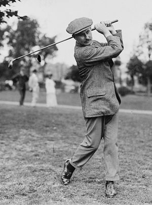 Harry Vardon, the golfing great from Jersey wh...