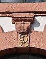 Harzkornmagazin, Eingang Südseite Stein Krone GR.jpg