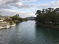 Hashimotogawa River from Tokiwabashi Bridge 1.jpg