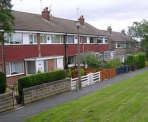 Whinmoor - Image: Hathaway Walk Coal Road, Whinmoor geograph.org.uk 894871