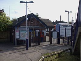Haydons Road stn north entrance.JPG