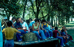 Hayride in Turner County, South Dakota