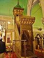 Hebron Grab der Patriarchen (Moschee) Innen Minbar 1.JPG
