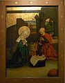 Hechingen Hohenzollerisches Landesmuseum spätgotischer Altar Krippe17528.jpg
