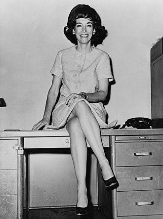 Helen Gurley Brown - Helen Gurley Brown in 1964