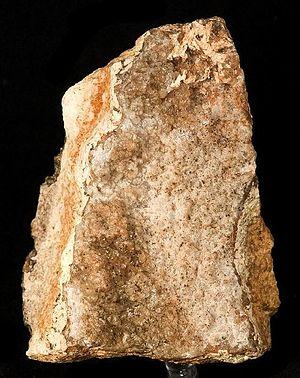 Calamine (mineral) - Specimen of calamine from mine at Granby, Missouri