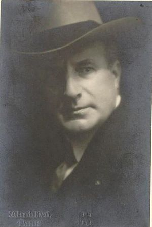 Henri Albers - Albers photographed circa 1920