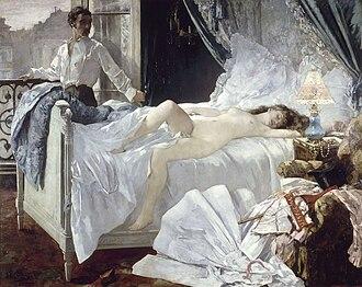 Alfred de Musset - Rolla by Henri Gervex, 1878