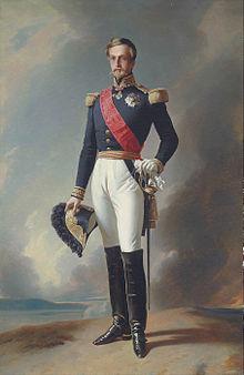 Portrait by Franz Xaver Winterhalter (Source: Wikimedia)