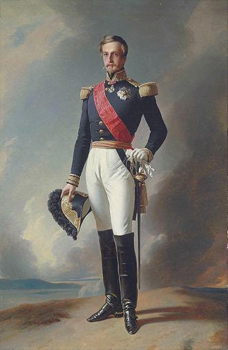 Henri d'Orléans, Duke of Aumale - Portrait by Franz Xaver Winterhalter