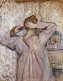 Henri de Toulouse-Lautrec - Combing, 1891.jpg