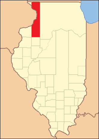 Henry County, Illinois - Image: Henry County Illinois 1825