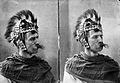 Henry S. Wellcome in warrior helmet Wellcome L0028620.jpg