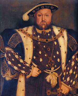 Henry VIII (5) by Hans Holbein the Younger