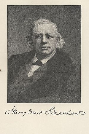 Henry Ward Beecher - Sketch of Henry Ward Beecher