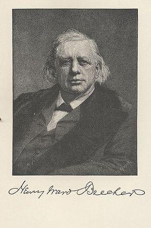 Sketch of Henry Ward Beecher
