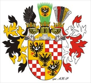 August of Legnica - Coat of arms of the Barons and later Counts of Legnica.