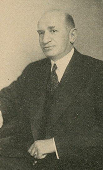 Herman P. Kopplemann - United States Congressman Herman Kopplemann, official photo for 79th Congress (1945-1947)