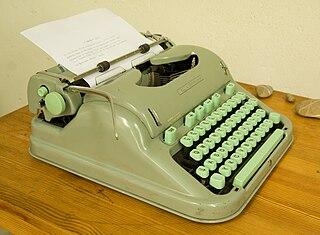 Hermes 3000 Make of typewriter