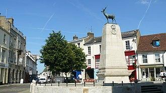 Hertford - Image: Hertford Parl Sq