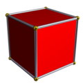 A 3-dimensional cross-polytope